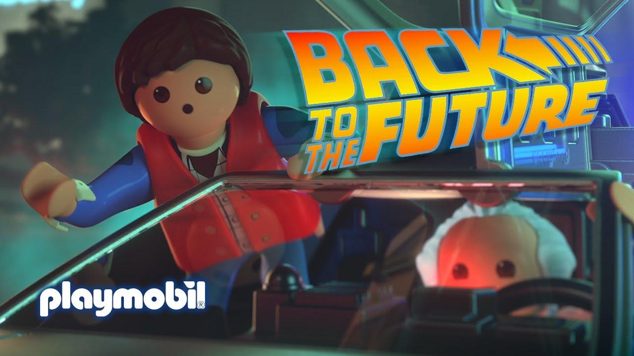 PLAYMOBIL Retour Vers le Futur - Teaser