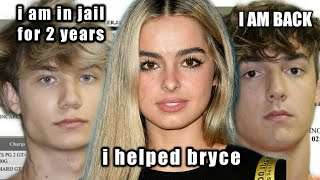 Addison rae BAILED bryce hall and jaden hossler to get-out the prison !!!!!! ( she paid 10.000$!!!!)