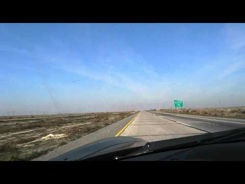 HD Time Lapse - Driving I-5 From LA to San Francisco