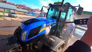 Çamurlu Nadas Ardından Traktörleri Yıkadık    Çiftçinin İşleri #2