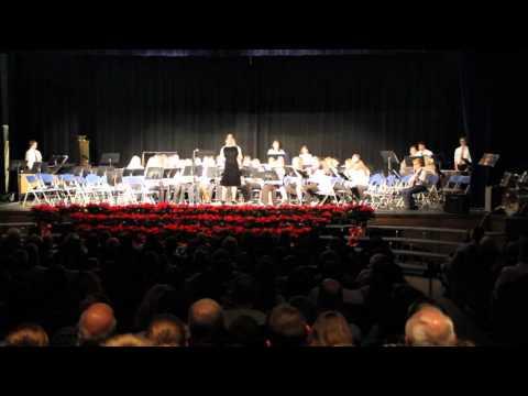 Gesu Bambino - Jefferson Township Middle School 8th Grade Band 2015