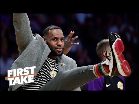 LeBron 'should reconsider his future' with the Lakers - Stephen A. | First Take