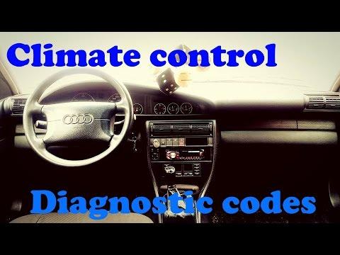 Audi A6 C4. Climate Control Diagnostic Codes