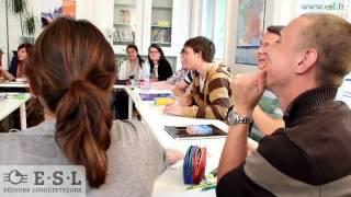 Séjour linguistique Français en France avec ESL - Séjours linguistiques
