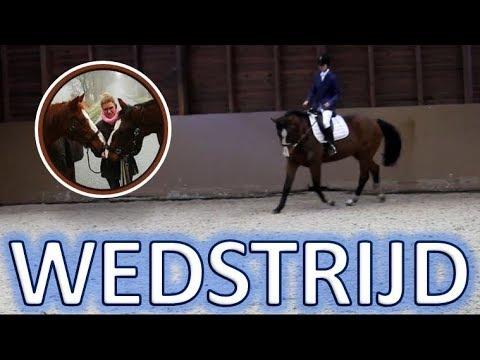 Vlogmas 22# 1e WEDSTRIJD met Vrolex   SNEAK PEEK UNLIMITED DRESSAGE   Horse Around