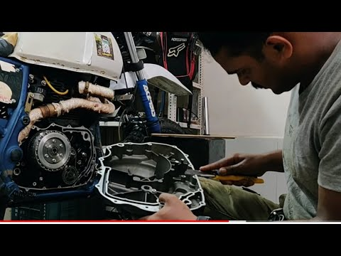 Royal Enfield Himalayan clutch bell RND and clutch plate replace DIY