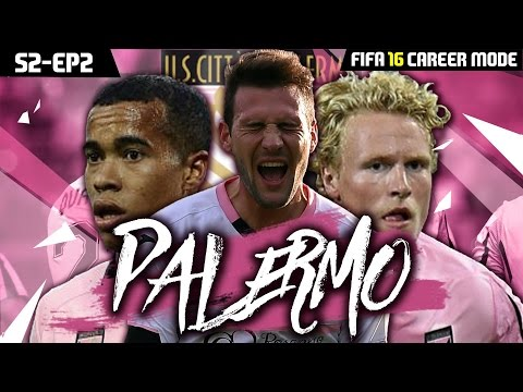 FIFA 16 Career Mode: Palermo | Making Signings!! | S2EP2