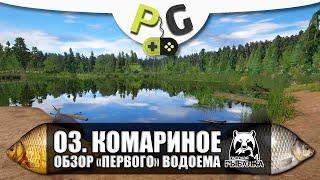 Русская Рыбалка 4 Озеро комариное Обзор водоема для новичков