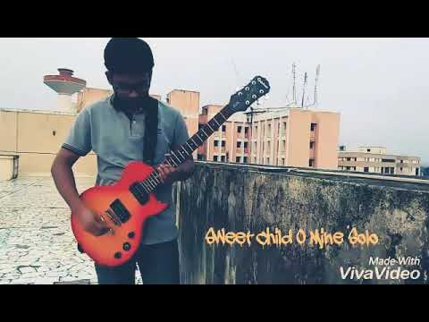 Sweet Child O Mine by Slash/GNR solo cover /the epic solos