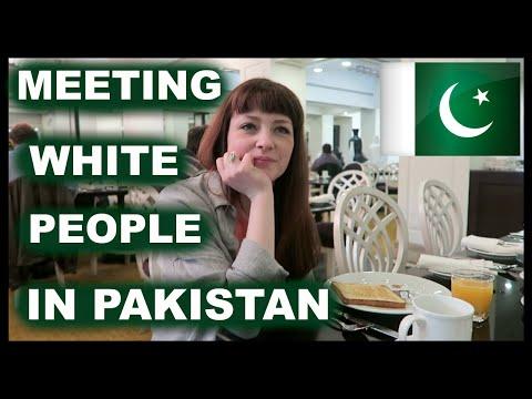 MEETING WHITE PEOPLE IN PAKISTAN  #Vlog