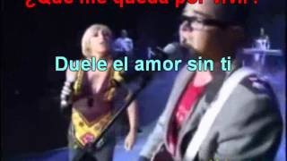 Karaoke Aleks Syntek Ft.  Ana Torroja - Duele el amor