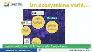 Emission 1 : LES PRINCIPAUX INDICATEURS DE L'ECOSYSTEME 06 ET SOPHIA ANTIPOLIS.