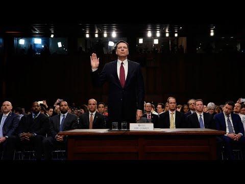 Ex-FBI director testifies before Senate Intelligence Cmte