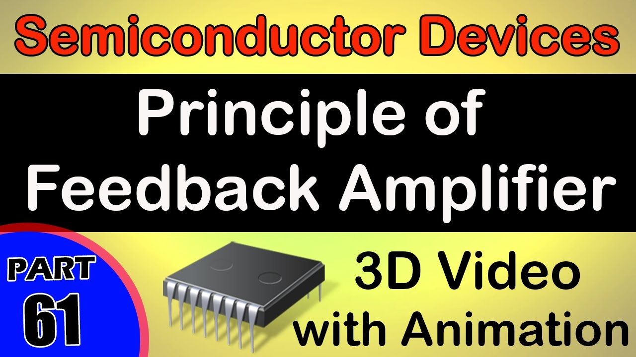Principle Of Feedback Amplifier Semiconductor Devices Class 12 A Is Classa Transistor Physics Subject Notes Lectures Cbse