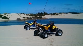 Quadzillas at the Oregon Dunes (Florence) March '13