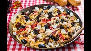 Paella Mixta Estilo México - exquisita receta