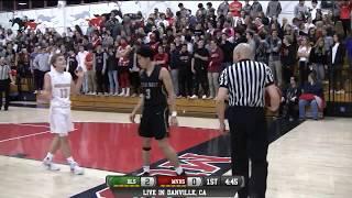 De La Salle vs Monte Vista High School Boys Basketball LIVE 1/5/18
