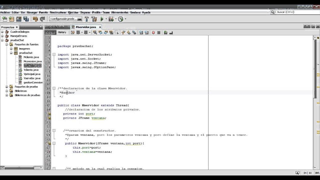 Como documentar un codigo en java y generar javadoc - YouTube