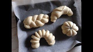 Cách làm bánh mì ngọt nhiều dáng l How to make styles bread !!!