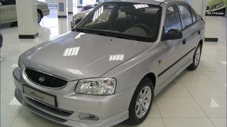 Замена лампочки переднего  габарита на Hyundai Accent
