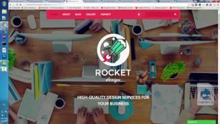 обзор templatemonster.com. Создание drupal сайта на готовой теме