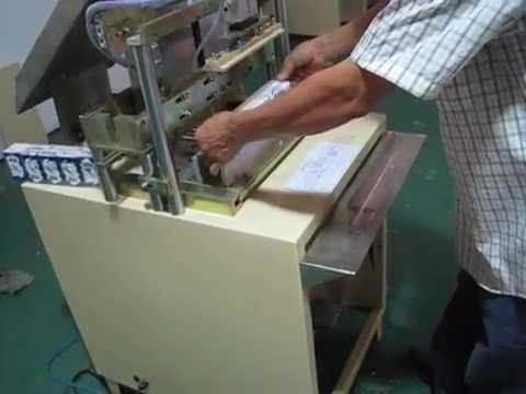 Semi Auto Pocket Tissue Handkerchief Paper Outer Bag