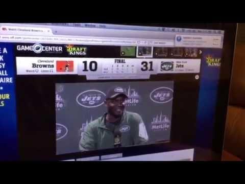 NY Jets 31, Cleveland 10: Todd Boles Gets 1st Win