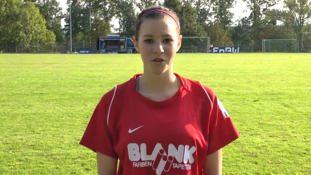 B Juniorinnen Fv Lochgau Emma Schulz Youtube