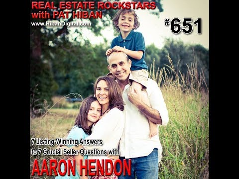 651: 7 Listing-Winning Answers to 7 Crucial Seller Questions with Aaron Hendon