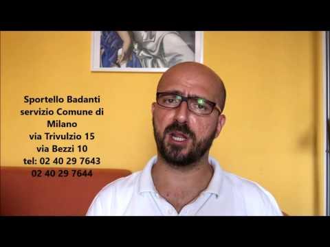 Sportello Badanti del comune di Milano
