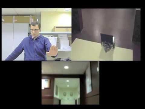Telerobotics using Kinect.m4v