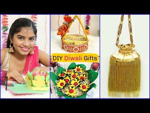 4 Easy DIY GIFT ideas for DIWALI |#Handmade #Craft #GiftCard #Anaysa #DIYQueen
