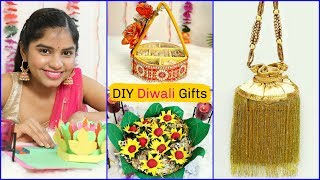 4 Easy Diy Gift Ideas For Diwali  #handmade #craft #giftcard #anaysa #diyqueen