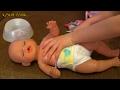 Беби Бон Лиза ложится спать писает примеряет обновочки танцует киндер-сюрприз Холодное сердце! 🛌👶👗
