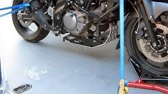 Moottoripyörän tai mopon kuljetus pakettiautossa tai peräkärryssä