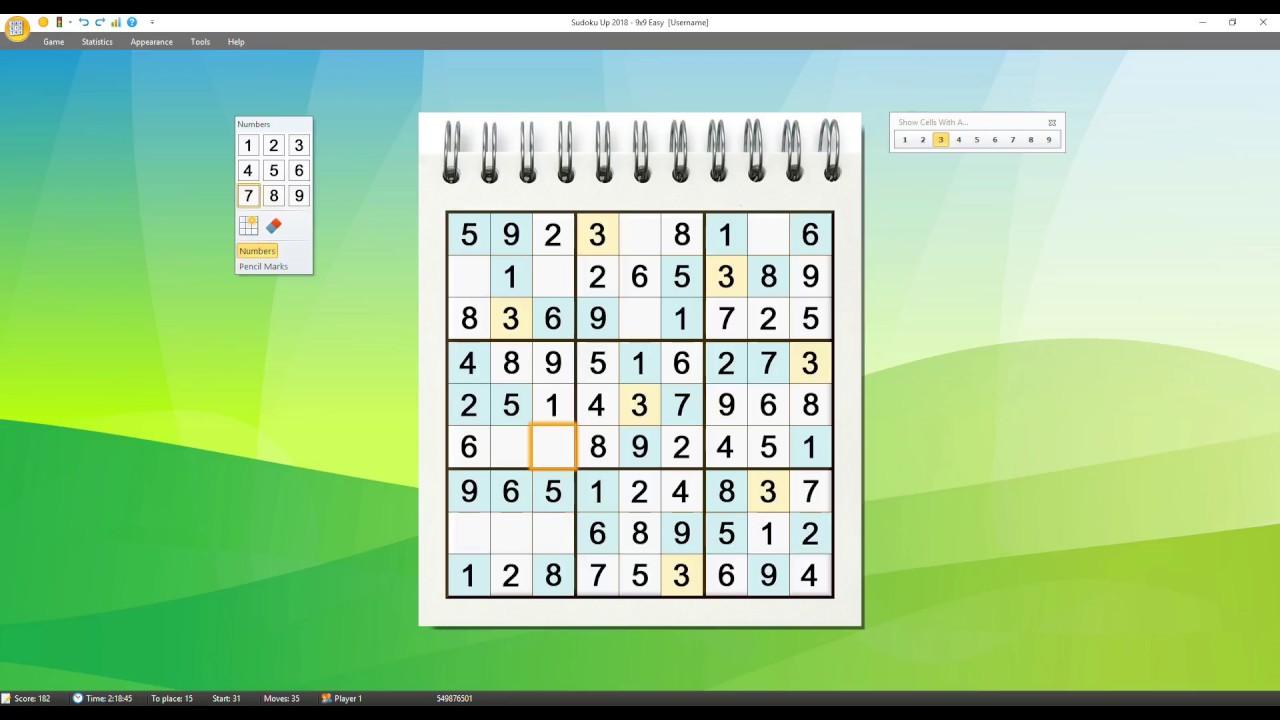 Sudoku Up 2018