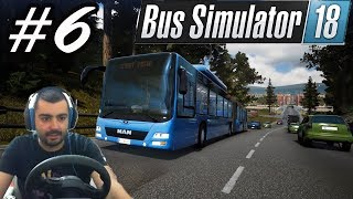 ОПАА.... ПОМОЩ ! Bus Simulator 18 #6