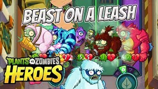 The Beastly Boyz - Plants vs Zombies Heroes Gameplay