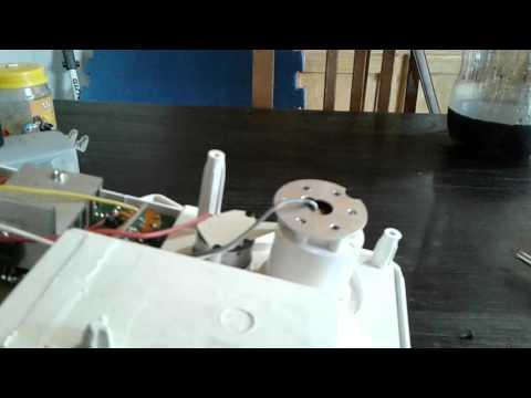 Arreglo nebulizador ultrasonico