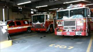 An hour at FDNY Brooklyn Borough Command
