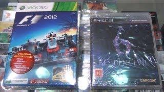 Unboxing Resident Evil 6 de Pré-Venda Nacional e Formula 1 2012 Edição Limitada (Pt-Br) - CJBr