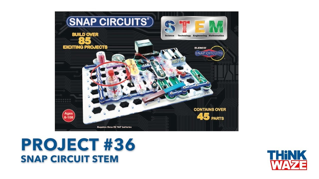 Snap Circuits Youtube Great Installation Of Wiring Diagram Elenco Arcade Circuit Stem Project 36 Rh Com Jr