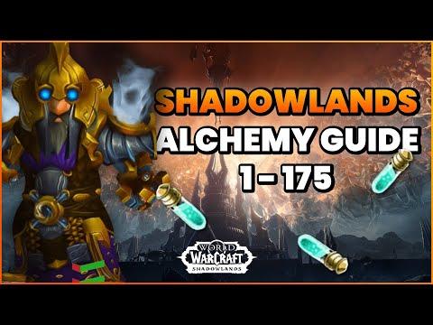 Shadowlands Profession Guide: Alchemy 1-175