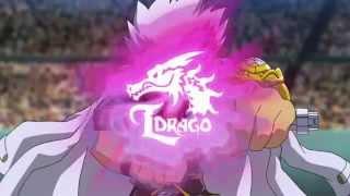Beyblade AMV. L-Drago vs Earth Eagle