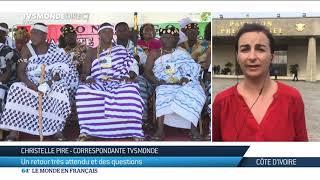 Retour de Laurent Gbagbo : tensions près de l'aéroport
