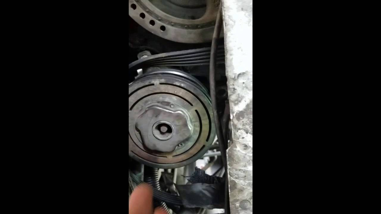 medium resolution of 97 cadillac deville concours ac compressor removal