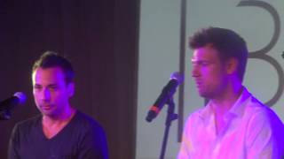 Backstreet Boys - One Phone Call at Fan Event Berlin at Cafe Moskau 2-7-2013 made by Claire