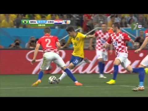 Brasil vs Croacia 3-1 Grupo A Mundial 2014 TV Azteca