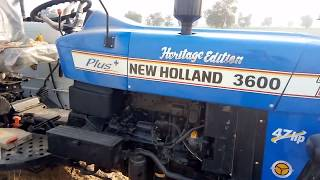 New holland 3600 heritage edition,47 Hp , Planetary Drive, Price 6.50 Lakh, tractor full Review