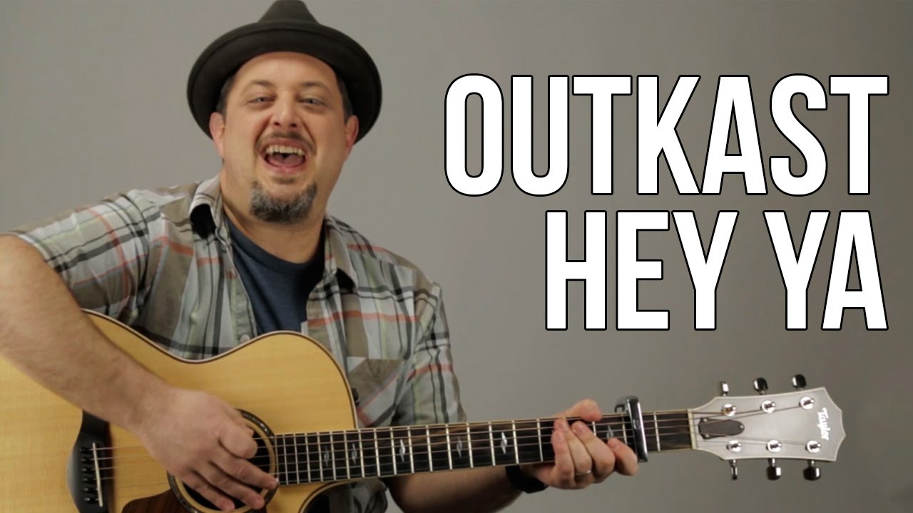 Hey Ya By Outkast Easy Guitar Lesson How To Play On Guitar Youtube